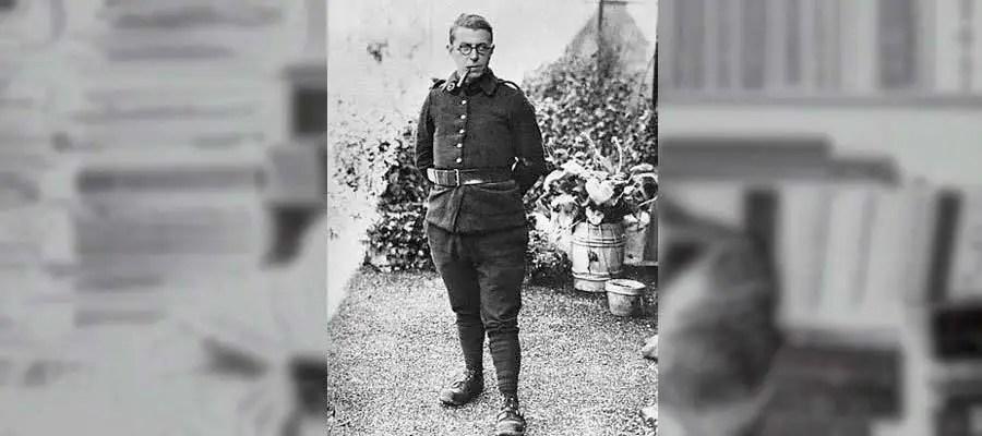 سارتر في الحرب العالمية