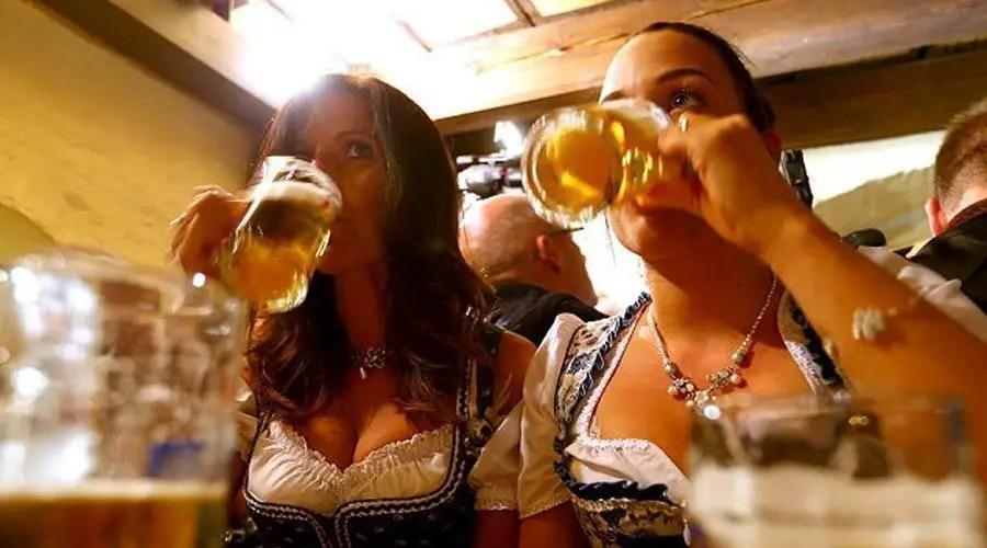 شرب البيرة في المانيا