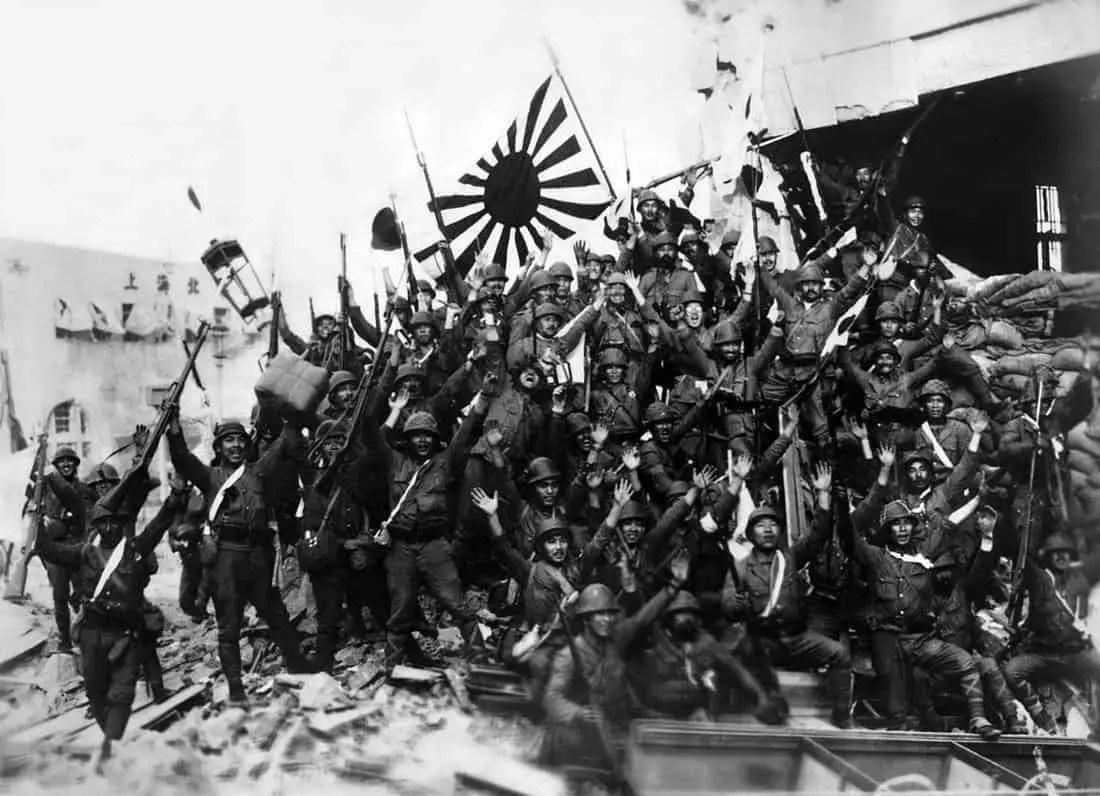 جنود يابانيون في الصين.