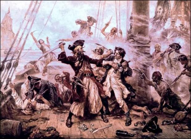 هل ترك القرصان الأسطوري (بلاكبيرد) كنوزه مخفية على جزيرة كنوز حقيقية؟