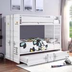 Cargo Industrial Transport Crate Themed Bunk Bed