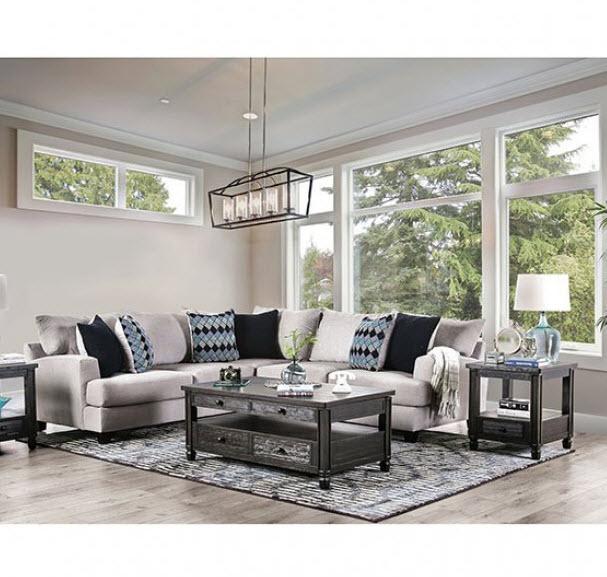 walter light gray sectional sofa