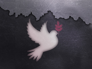 Aufbrechen für den Frieden
