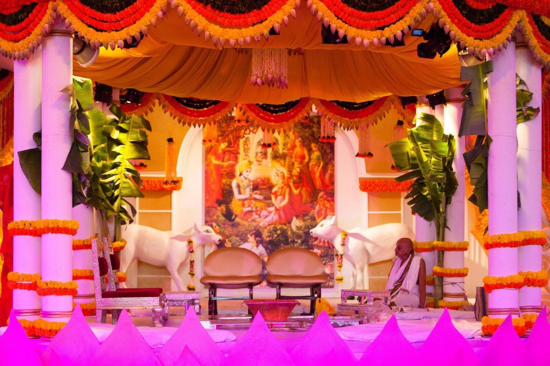 Isckon Temple Wedding Mumbai