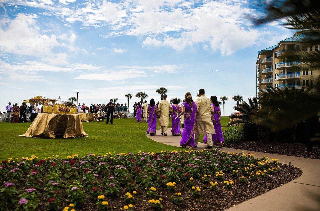 Ritz Carlton Amelia Island Indian Wedding Photographers