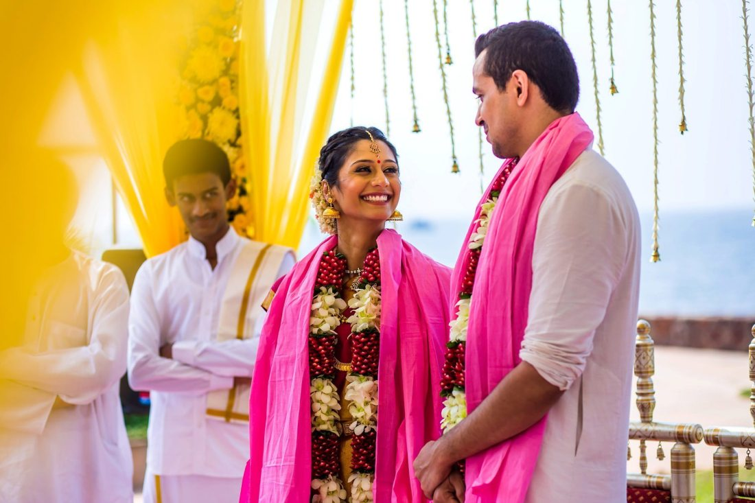 Tamil Destination Wedding Photographer Marriott Goa