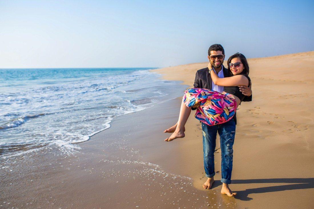 Goa Beach PreWedding Shoot
