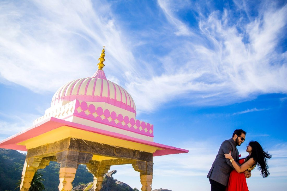 Mount Abu Palace Pre Wedding Photographer