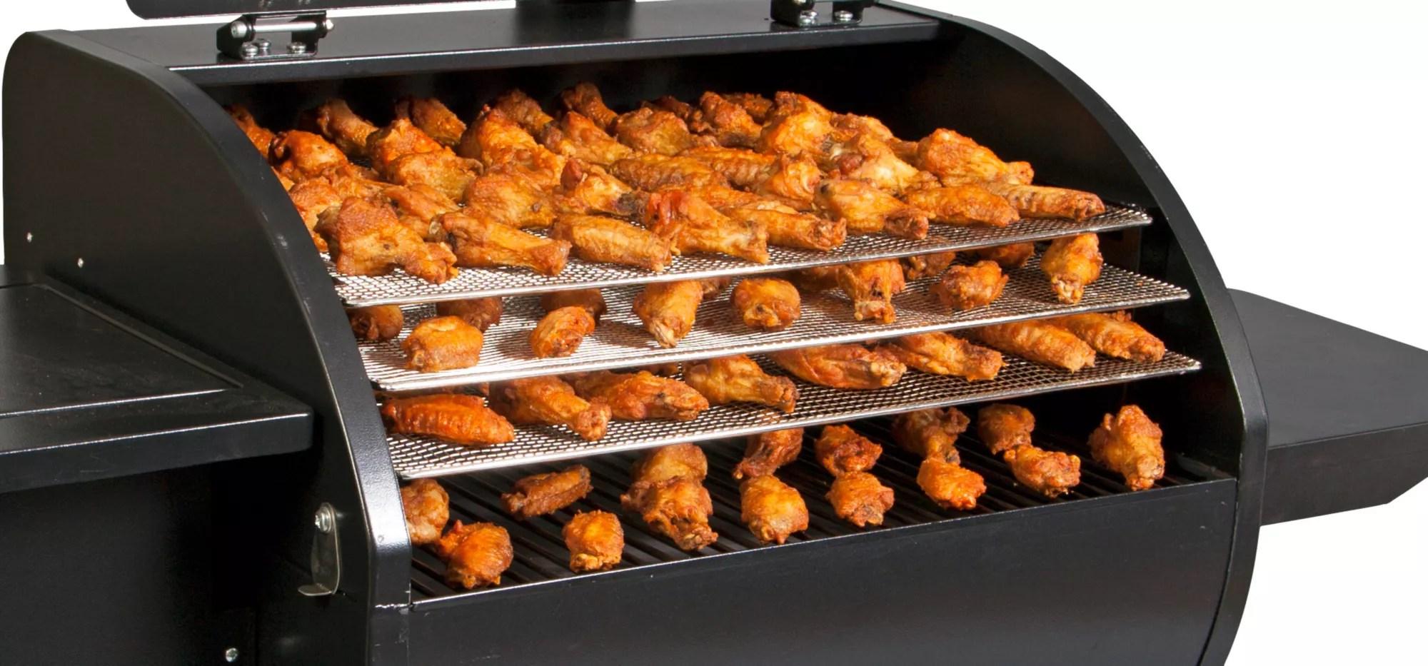 camp chef pellet grill jerky rack