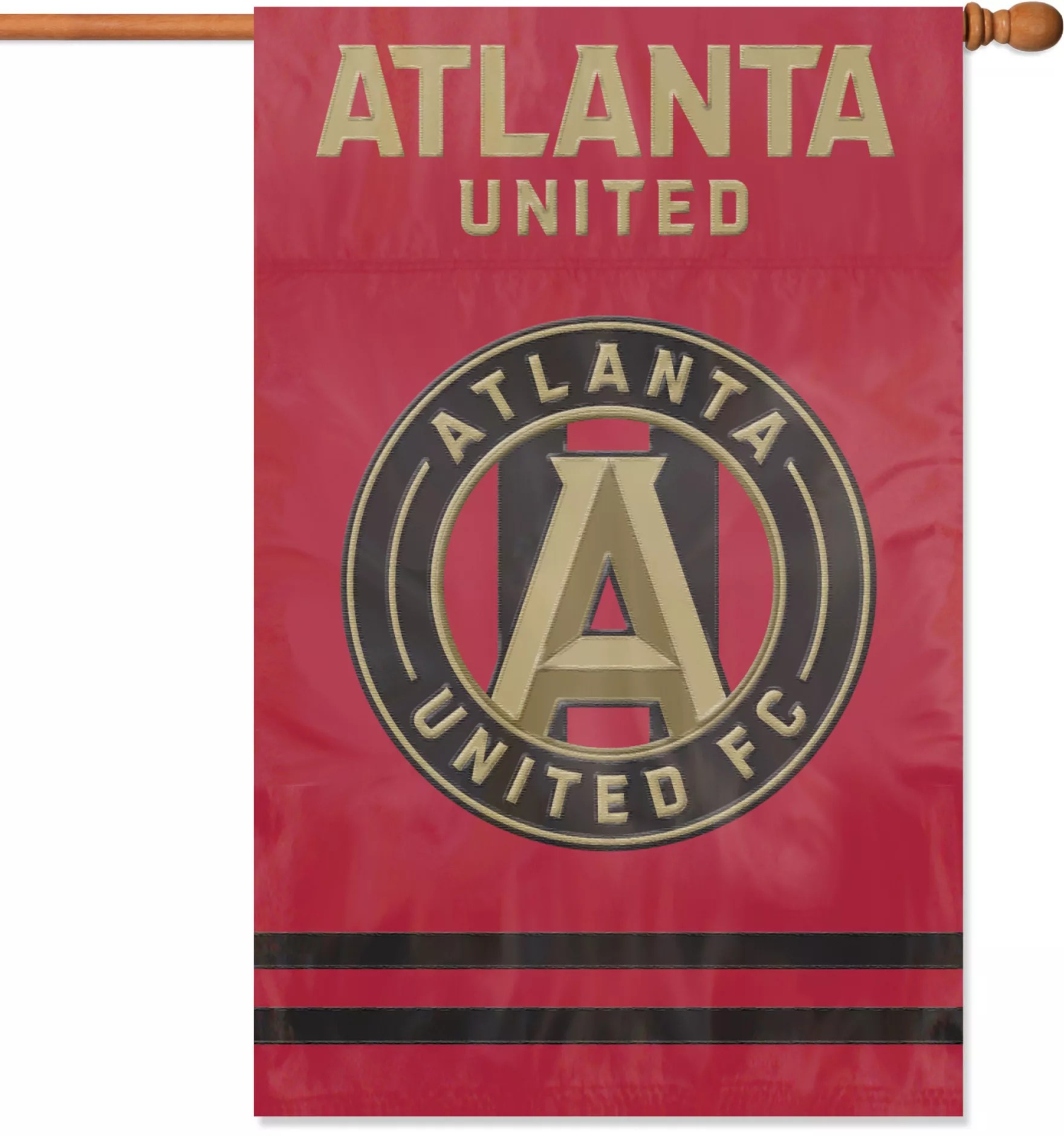 party animal atlanta united banner flag