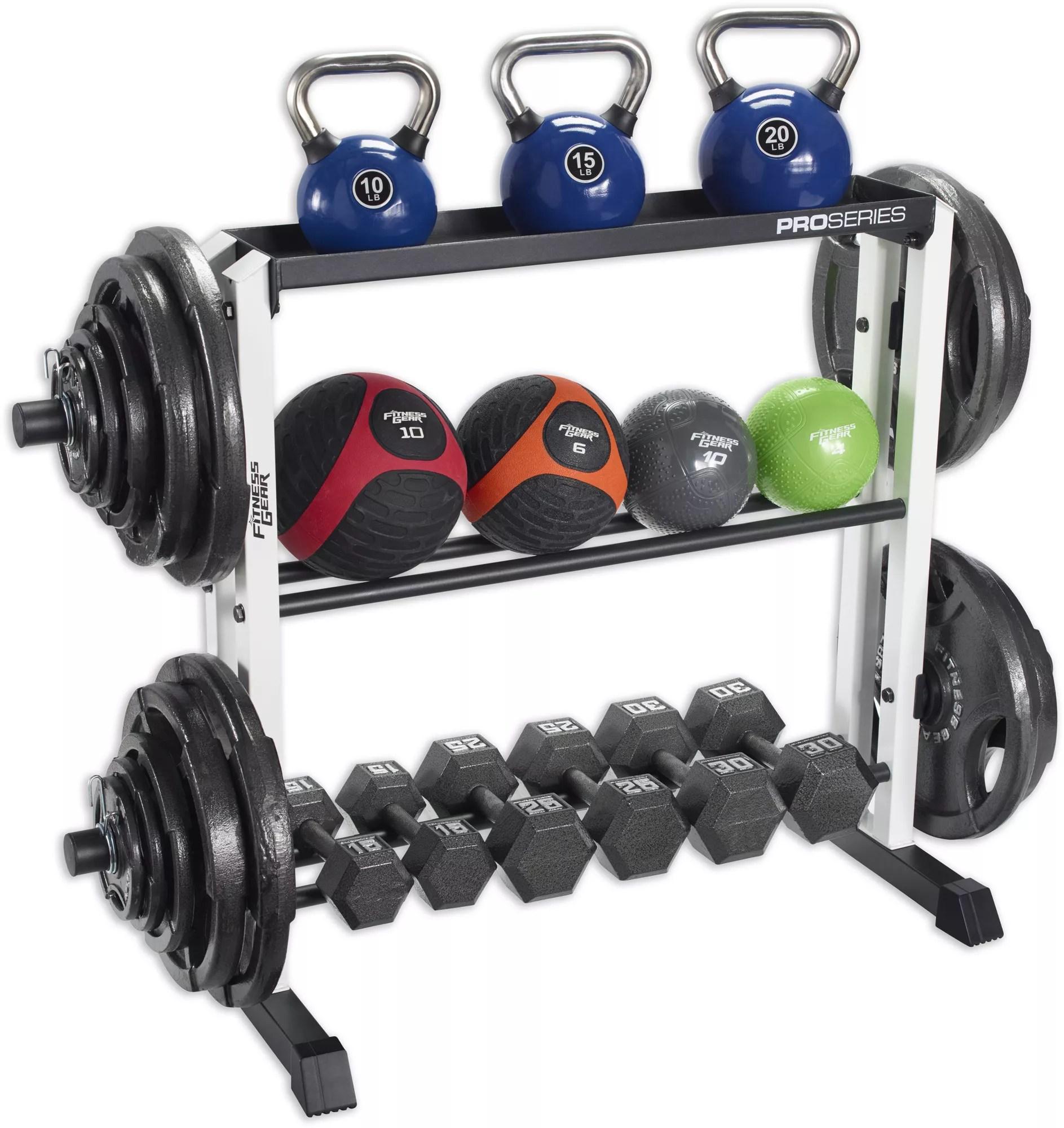 fitness gear pro storage rack