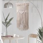Macrame Lampshade Boho Ceiling Pendant Light Cover Macrame Hanging Lamp Shade Ebay