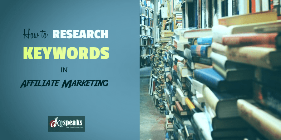 how to research keywords