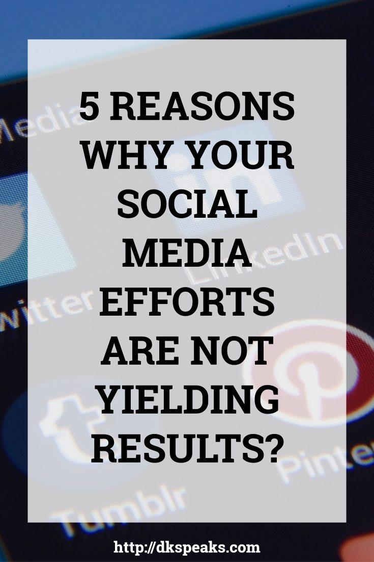 social media marketing fail