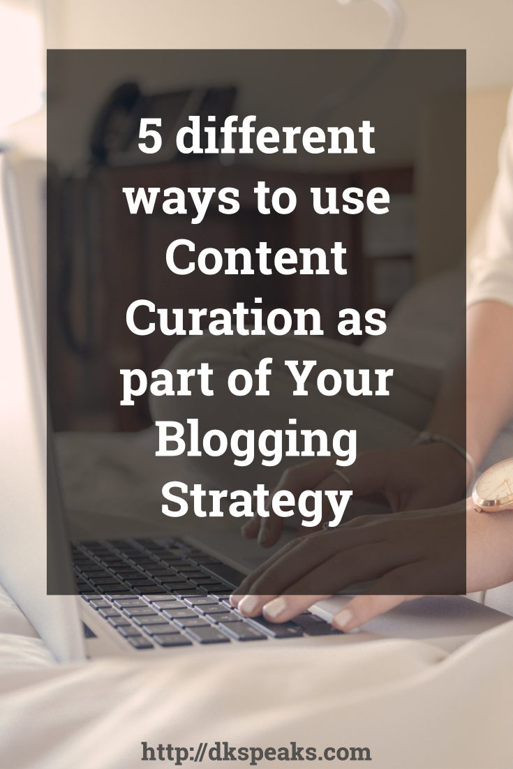 ways to use content curation