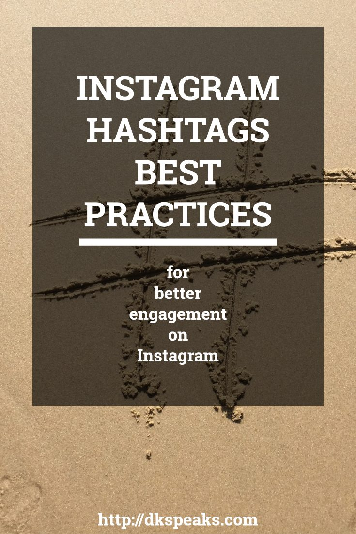 instagram hashtags best practices