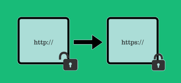 Using HTTPs over HTTP
