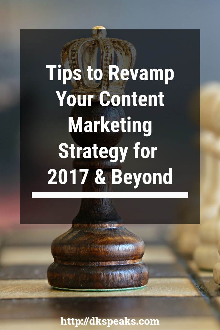 content marketing strategy for 2017