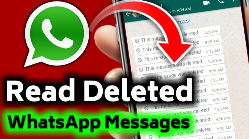 Read Deleted Messages On Whatsapp Messenger