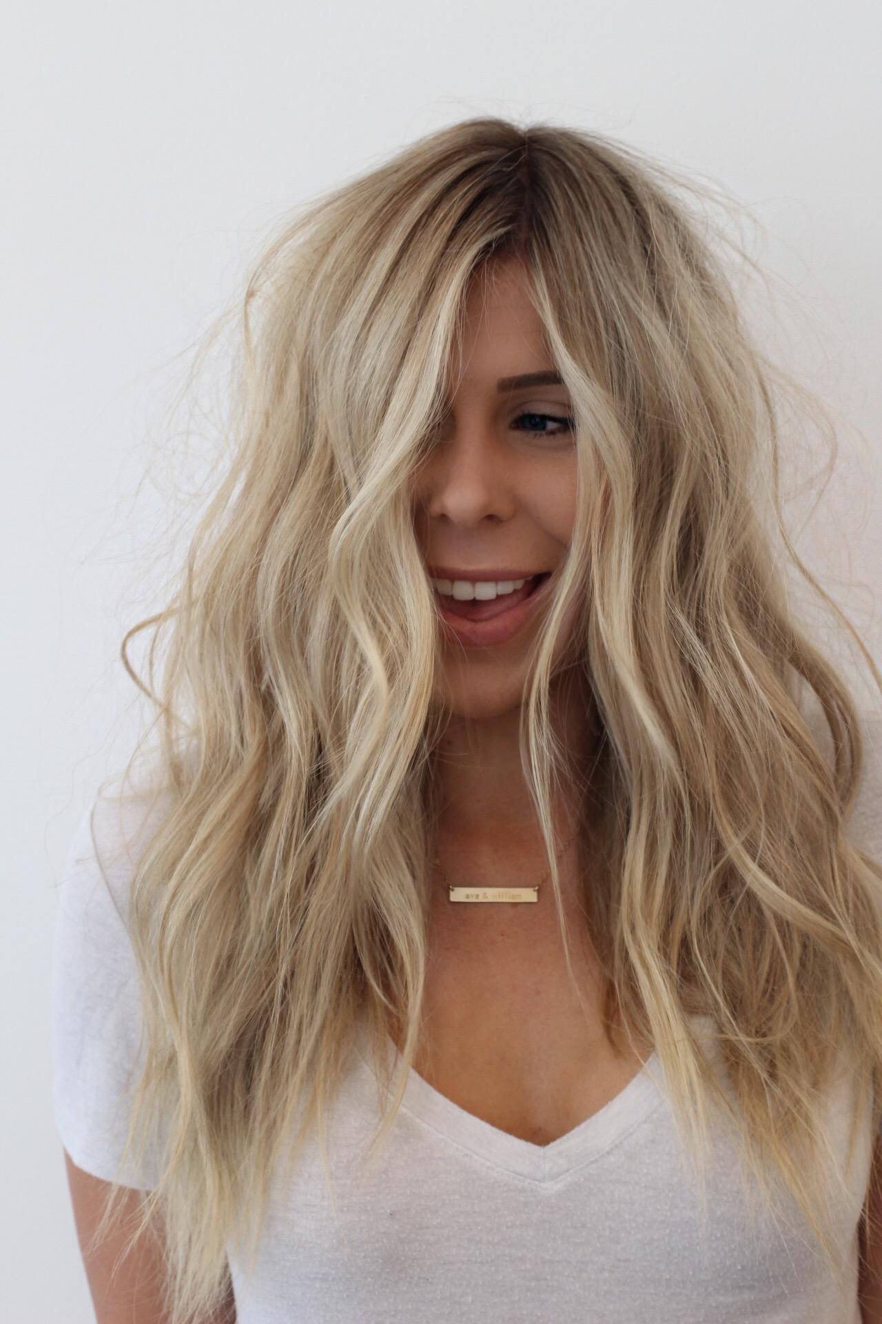 Beach Waves Tutorial | NBR Hair Extensions | DKW Styling