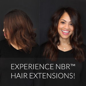 Experience Natural Beaded Rows™ Hair Extensions!