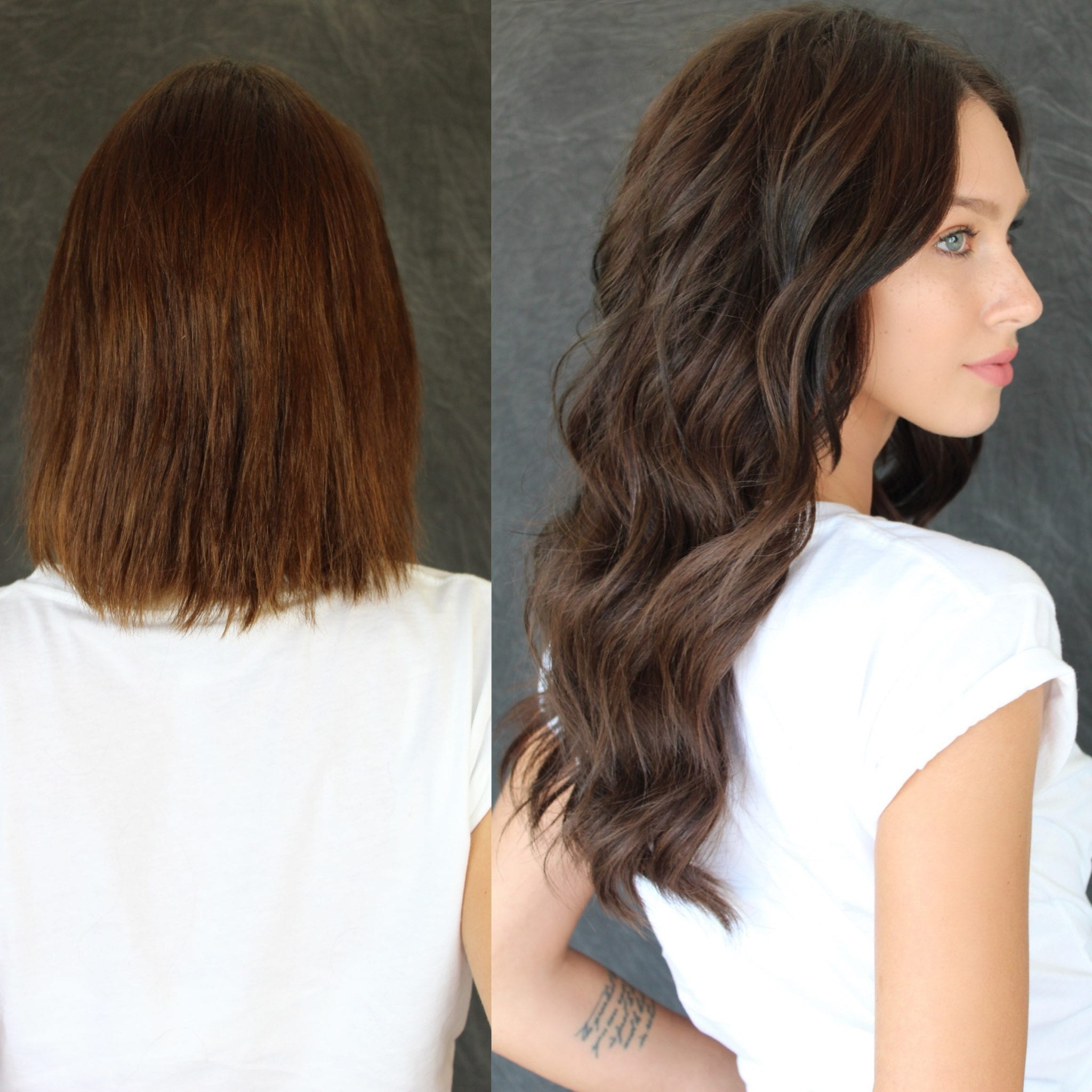 DKW Styling - Natural Beaded Rows On Brunette's