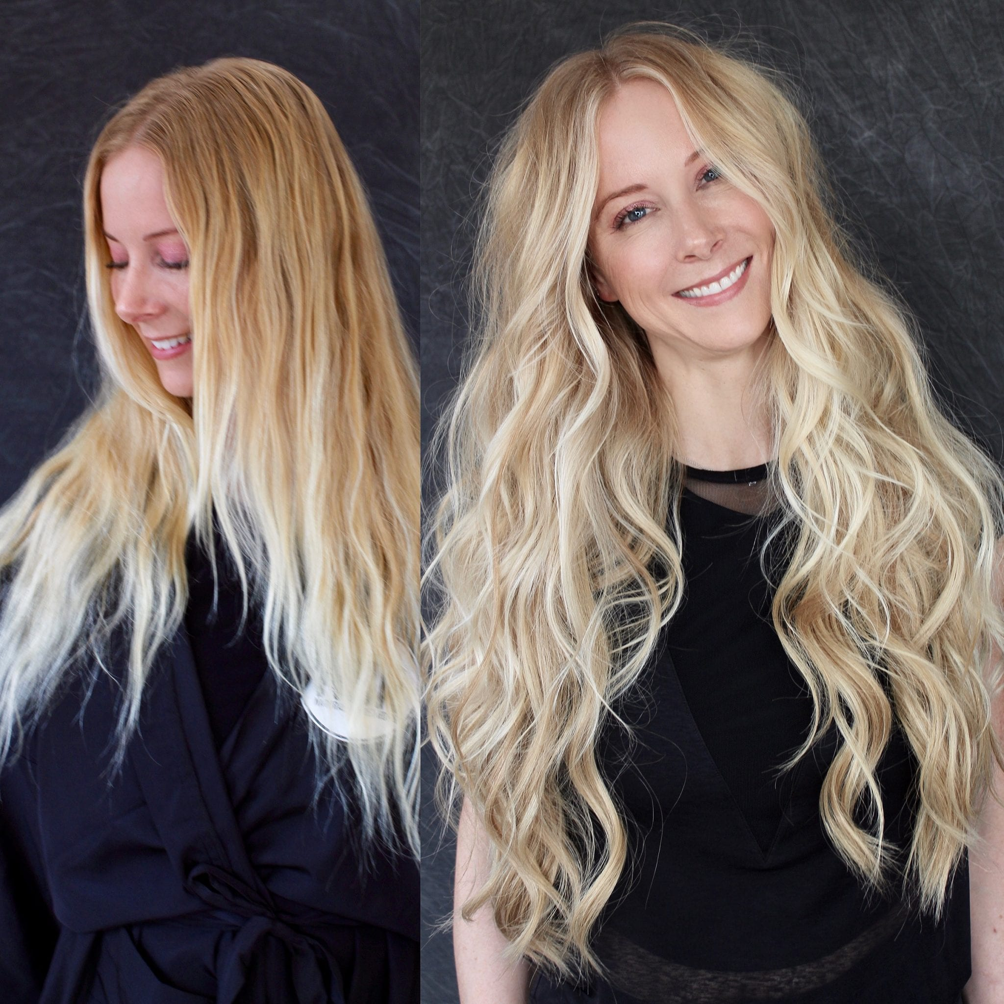 Natural Beaded Rows Hair Extensions by DKW Styling