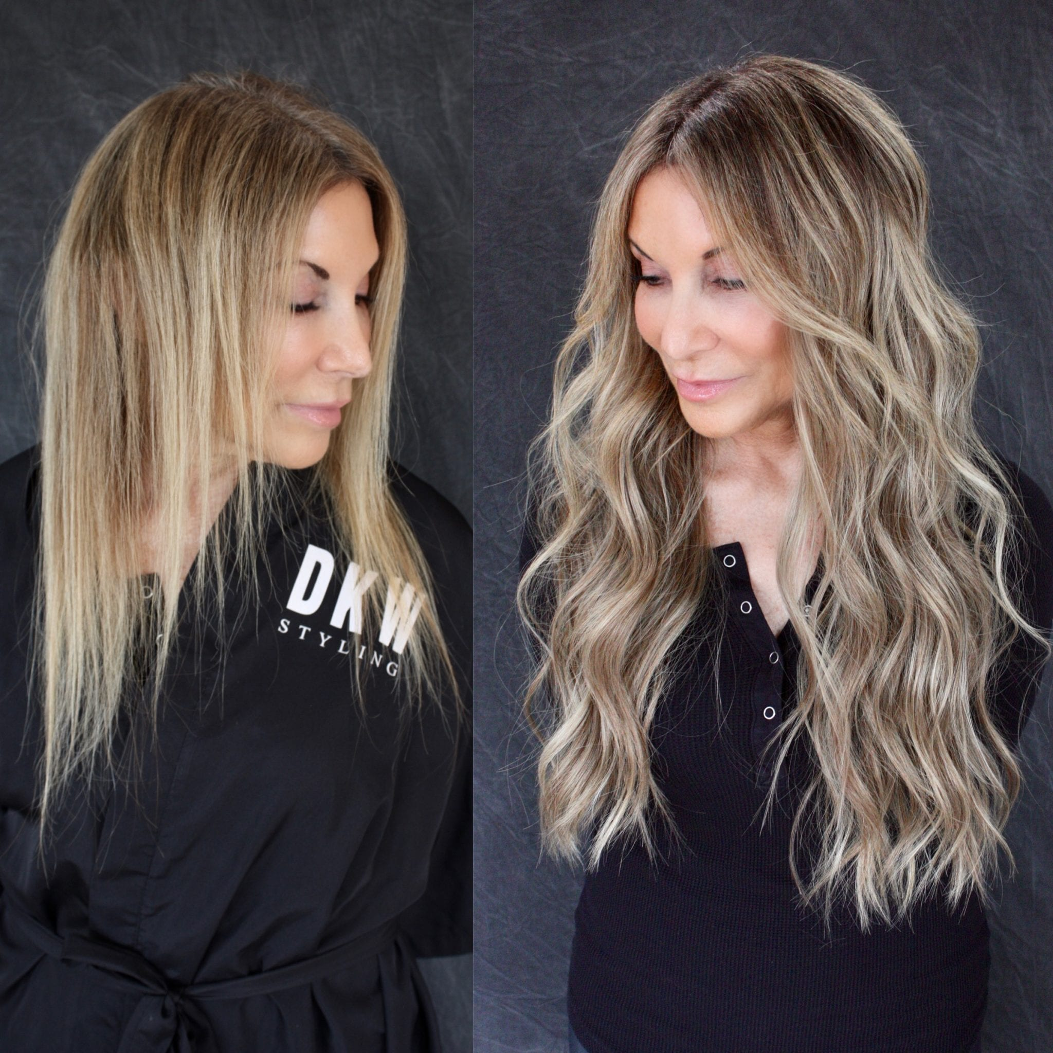 Natural Beaded Rows® Hand Tied Hair Extensions by DKW Styling