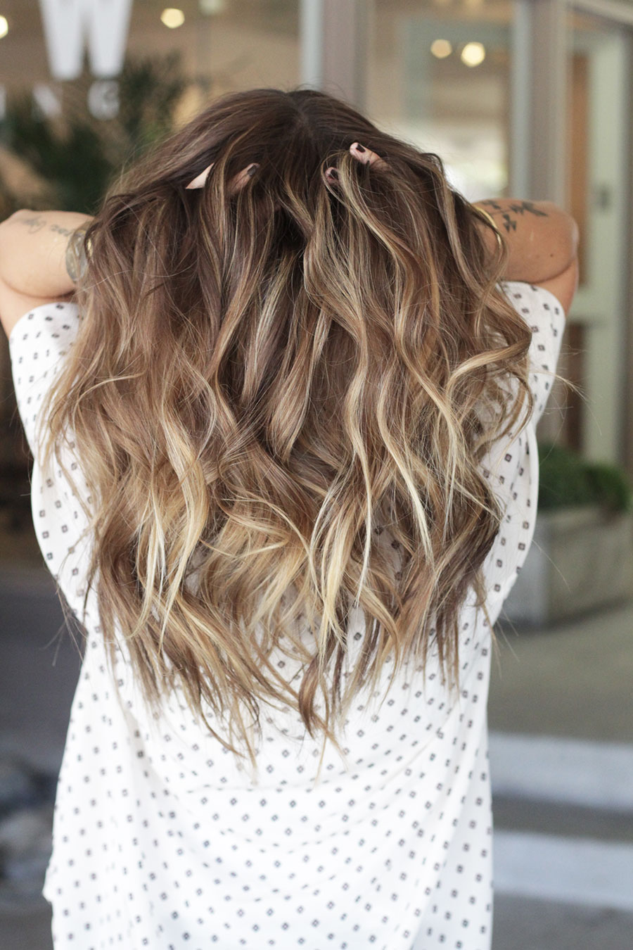How To Curl And Blend Hair Extensions Dkw Styling