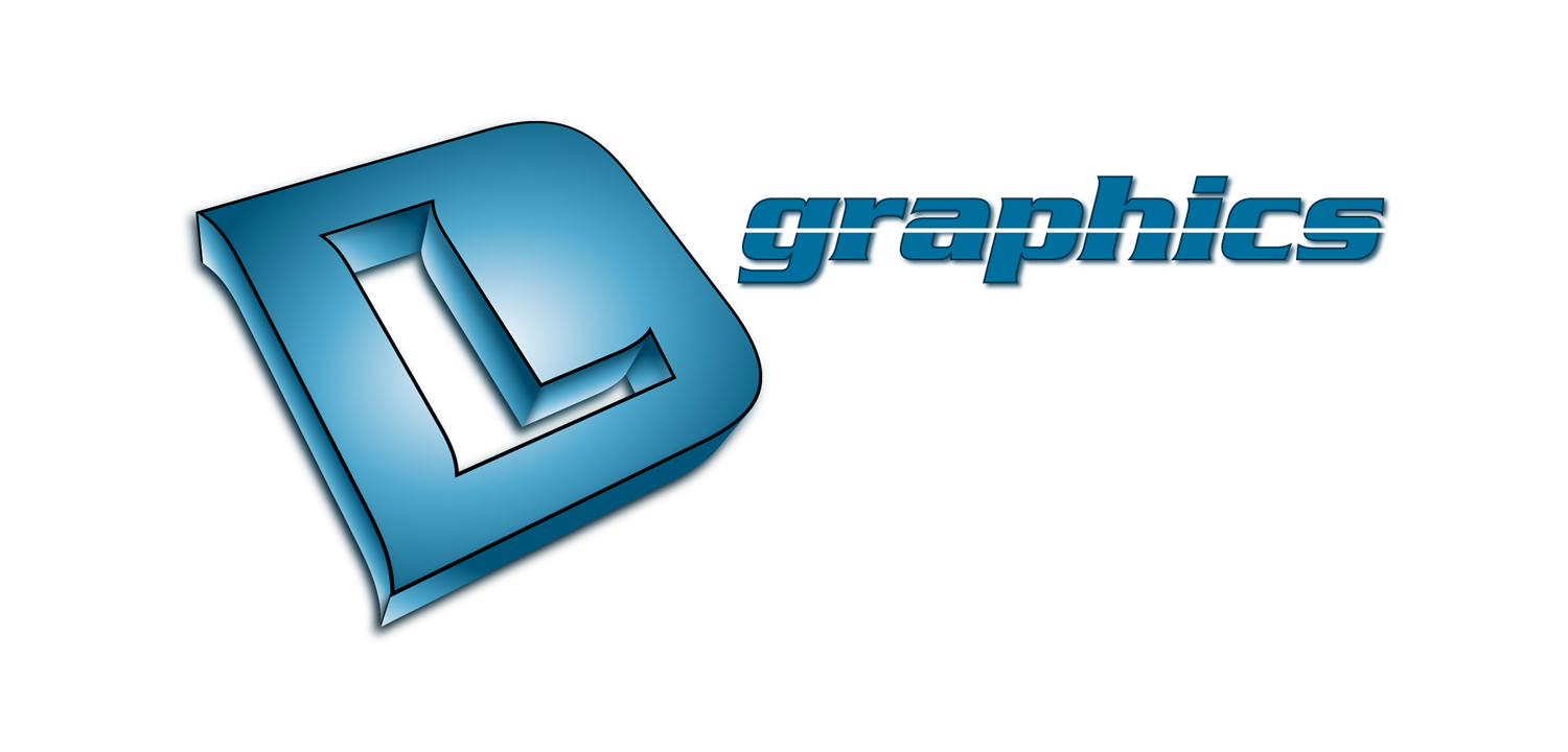 DL Graphics Graphic Design Artwork Print PDF Logo