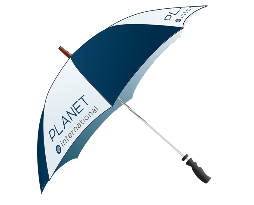 Planet International Graphic Design Artwork Print PDF Promotional Umbrella