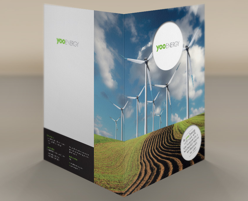 Yoo Energy Graphic Design Artwork Print PDF Folder