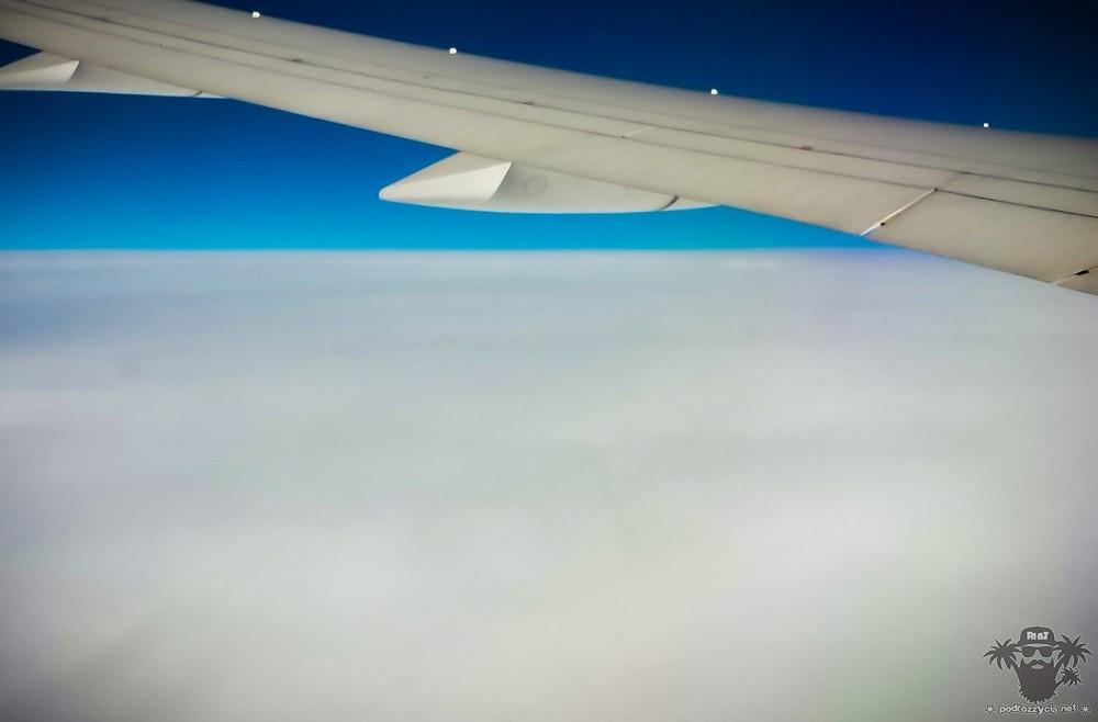 Podróż Życia, niebo nad Włochami