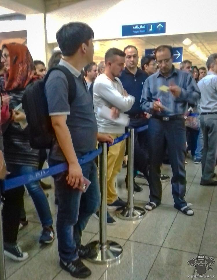 Podróż Życia, Iran, Teheran, lotnisko im. Chomejniego