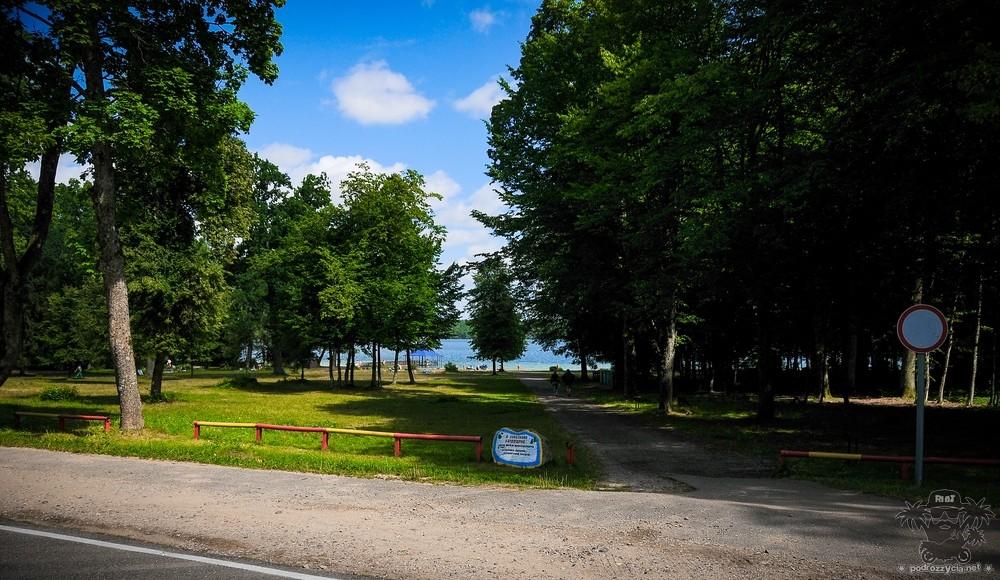 Podróż Życia, Białoruś motocyklem, jezioro Świteź