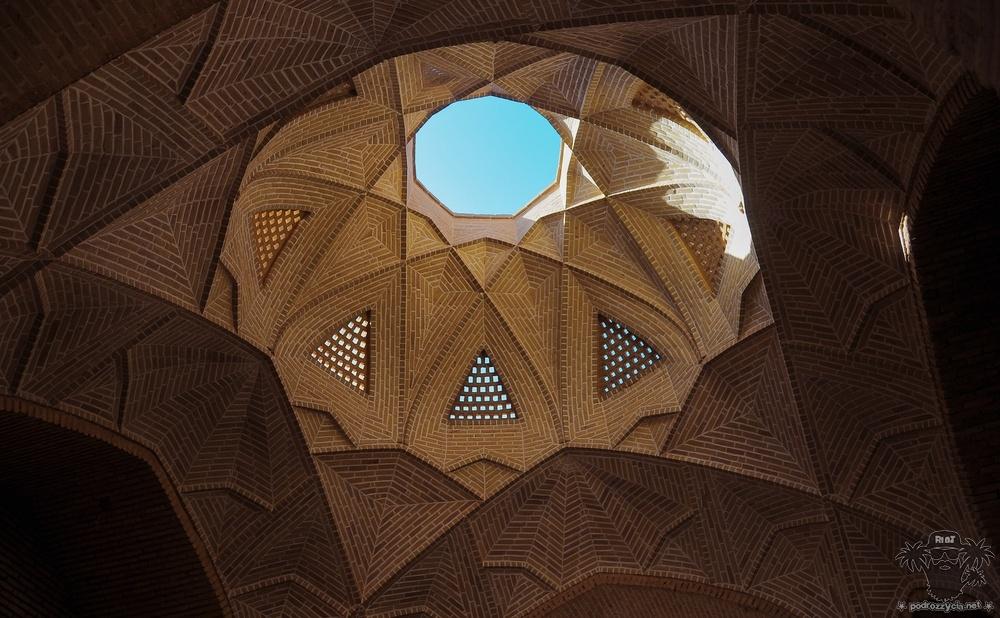 Podróż Życia, Iran, meybodzki karawanseraj