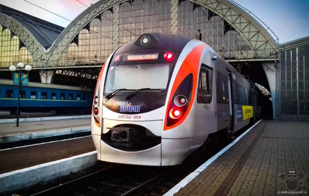 Podróż Życia, pociąg Przemyśl - Kijów