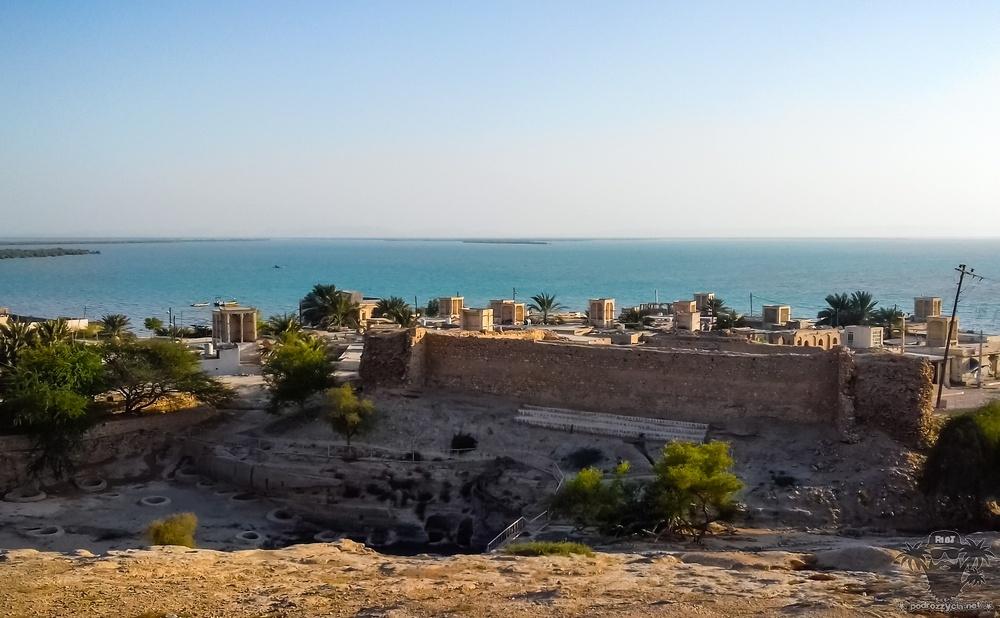 Podróż Życia, Iran, Keszm, Laft, zamek Naderi