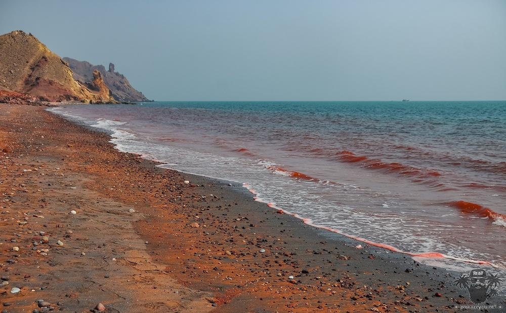 Podróż Życia, Iran, Ormuz, Czerwona Plaża