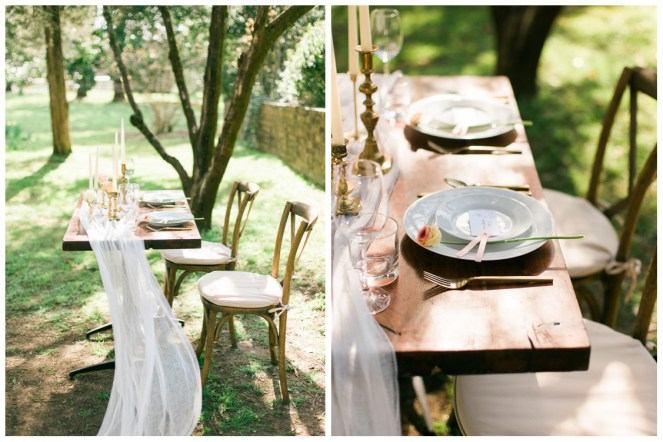 Liberty Party Rental - Table Setting