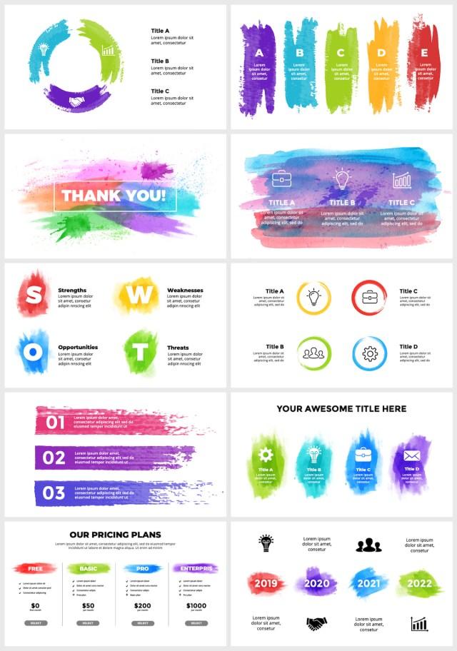 Huge Infographics Bundle! Lifetime Updates! PowerPoint, Photoshop, Illustrator. - 48