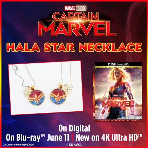 Captain Marvel Hala Star