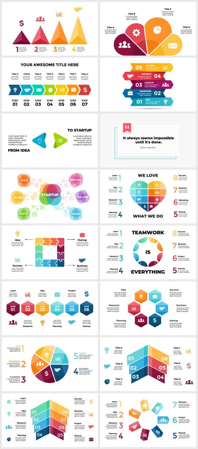 Huge Infographics Bundle! Lifetime Updates! PowerPoint, Photoshop, Illustrator. - 111