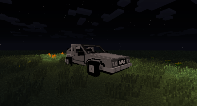 Back to the Future Mod for Minecraft