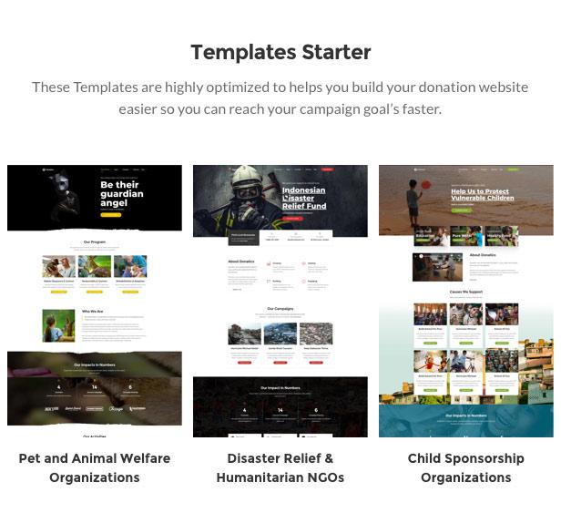Donatics - Charity & Fundraising WordPress Theme - 2