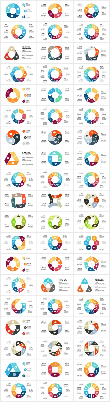 Huge Infographics Bundle! Lifetime Updates! PowerPoint, Photoshop, Illustrator. - 189