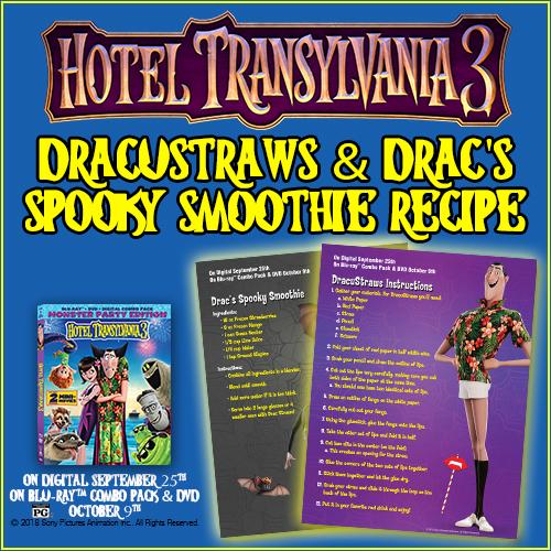 Hotel Transylvania 3: Bonus Clips and Activities!