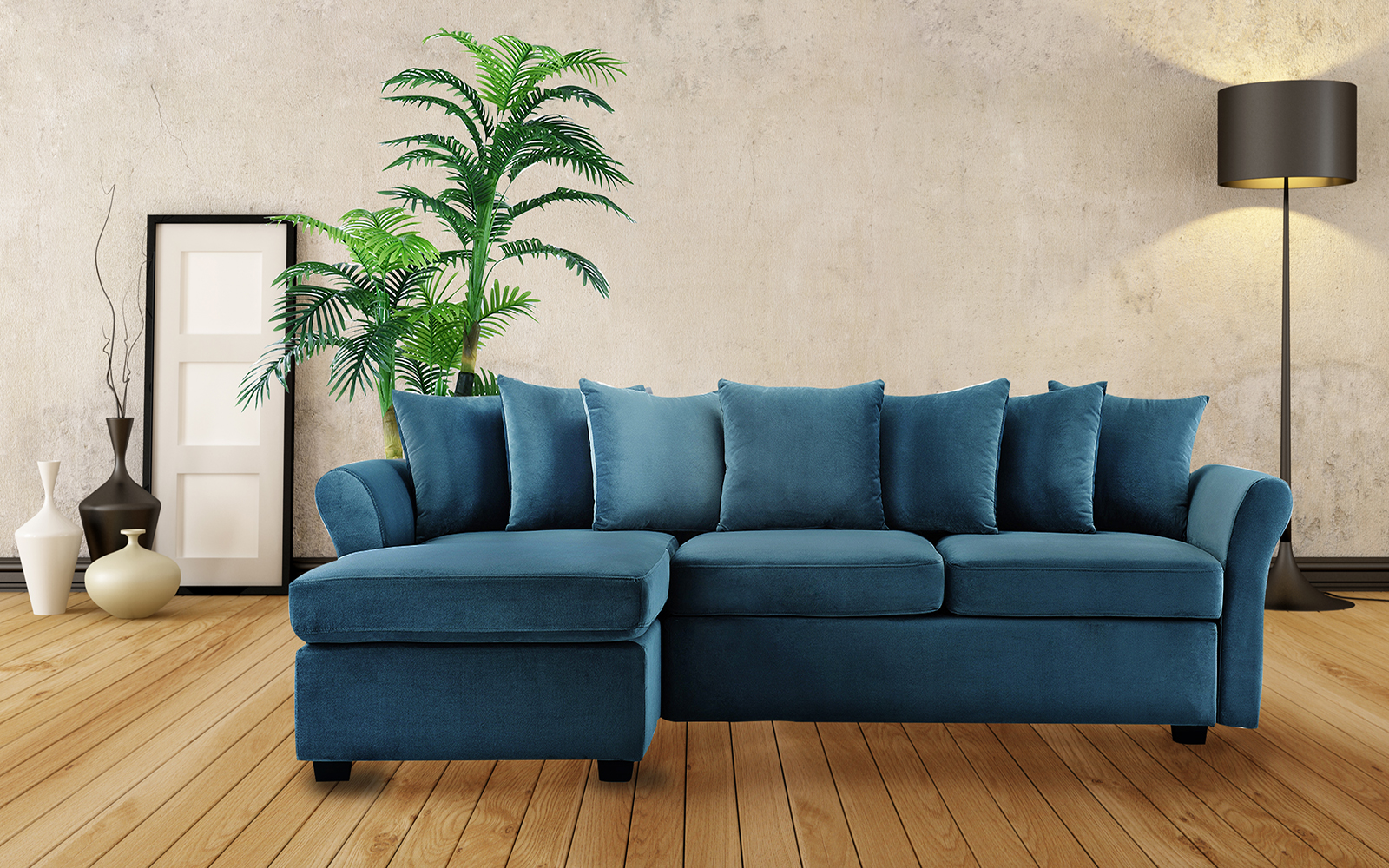 Large Sofa Chaise Lounge