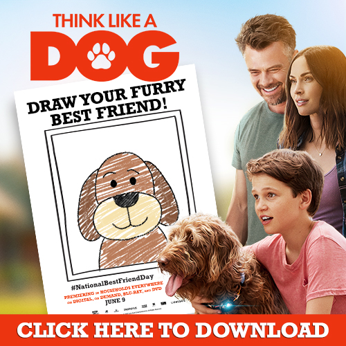 "Think Like a Dog ""Best Friends"" Free Printable & Digital Code Giveaway"
