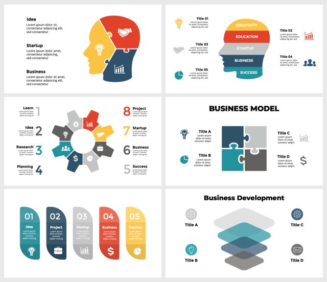 Huge Infographics Bundle! Lifetime Updates! PowerPoint, Photoshop, Illustrator. - 95